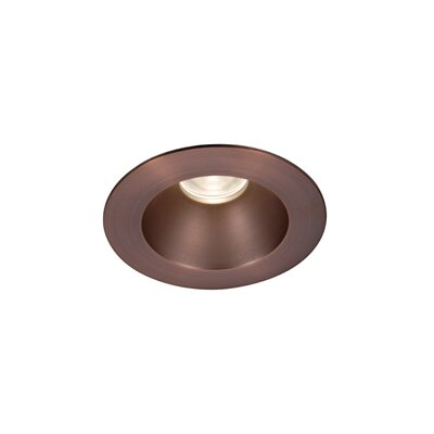 Downlight Open Round 3.5 LED Recessed Trim Finish: Copper Bronze, Bulb: 3000K