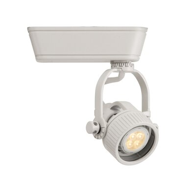 1-Light Low Voltage Track Head Track Type: Lightolier Series, Finish: White, Size: Small