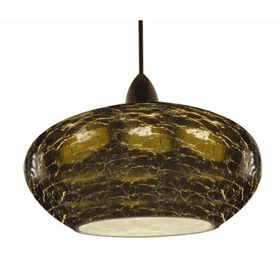 Artisan RHU Quick Connect 1-Light Pendant Finish: Dark Bronze