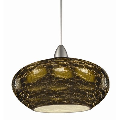 Artisan RHU Quick Connect 1-Light Pendant Finish: Brushed Nickel