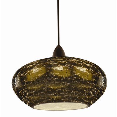 Artisan RHU Quick Connect 1-Light Pendant Finish: Dark Bronze