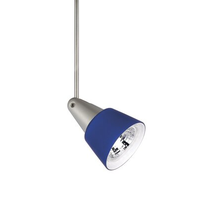 Mint 1-Light Quick Connect Track Pendant Stem Length: 6, Finish: Brushed Nickel