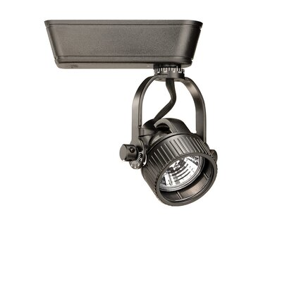 1-Light Low Voltage Track Head Track Type: Halo Series, Finish: Black, Size: Small