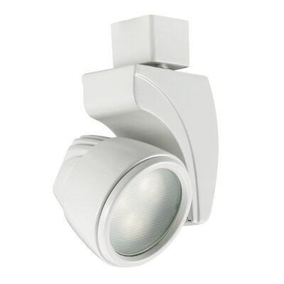 3-Light Spot 9W LED Track Head Finish: White, Track Type: Juno Series, Color Temperature: 3000K