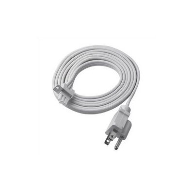 Easy Connect Six Foot Power Cord for Under Cabinet Lighting in White
