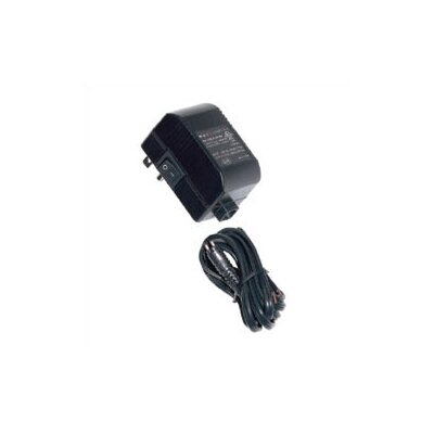 60W 12V Class II Mini Electronic Transformer with 6 Detachable Cord and Plug Finish: Black