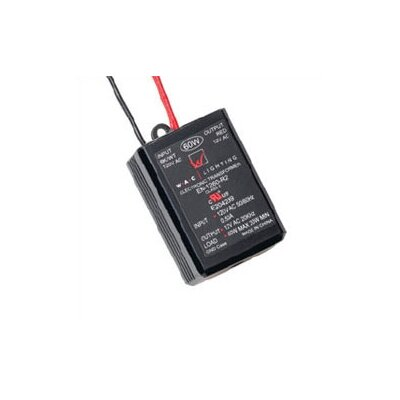 Class II Remoted 60W 12V Electronic Transformer