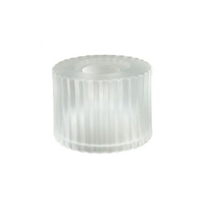 2.25 Drum Track Head Shade Color: White