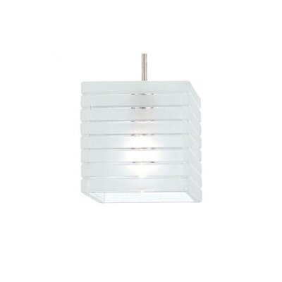 European Tulum 1-Light Mini Pendant Finish: Brushed Nickel