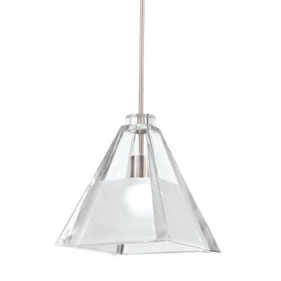 European 1-Light Mini Pendant Finish: Brushed Nickel