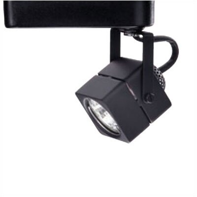 1-Light Low Voltage Square Track Head Track Type: Halo Series, Finish: Black