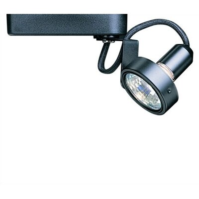 Gimbal 1-Light Low Voltage Track Head Finish: Black, Bulb Type: 50W MR16 Halogen Bulb, Track Type: Lightolier Series
