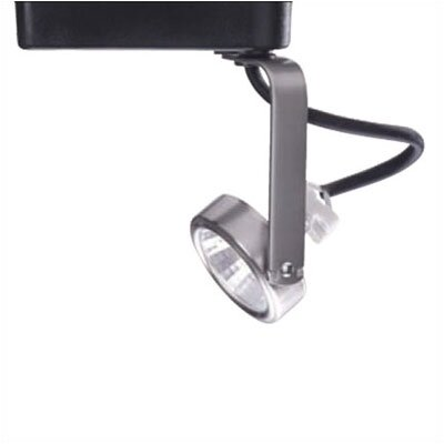 Gimbal 1-Light Low Voltage Track Head Track Type: Juno Series, Bulb Type: 50W MR16 Halogen Bulb, Finish: Black