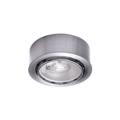 Xenon Under Cabinet Puck Light Finish: Brushed Nickel