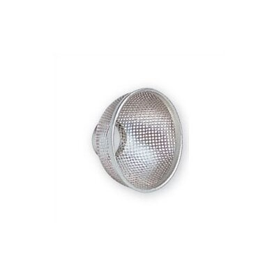 Halogen Light Bulb Shield Bulb Type: MR16, Finish: Brushed Nickel