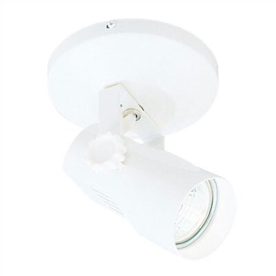 007 Series Low Voltage Semi Flush Mount Spot Light Finish: White