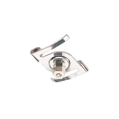 T- Bar Drop Ceiling Attachment For Track Lighting in Chrome