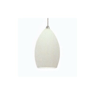 Contemporary Lauren Mini Pendant Finish: Chrome, Shade Color: White