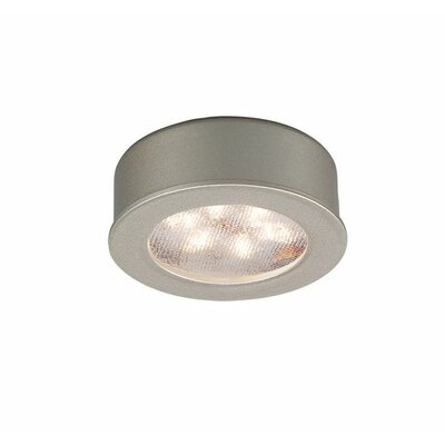 WAC LED Button Light - Shape: Round, Finish: Brushed Nickel, Lumens: 156 at Sears.com