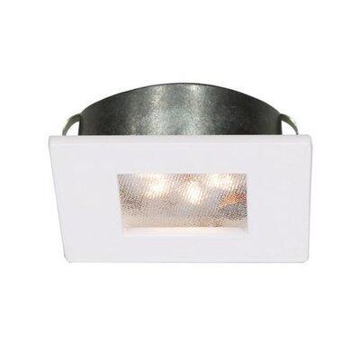 LEDme Square 2.25 LED Recessed Lighting Kit Finish: White