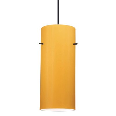 Flexrail1 1-Light Dax Track Pendant Shade Color: White Marble