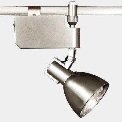 Flexrail2 1-Light Line Voltage Track Head Bulb Type: 39W PAR30, Finish: Platinum