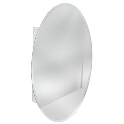 "Zenith Designer Series 20"" Premium Oval Medicine Cabinet | Wayfair"