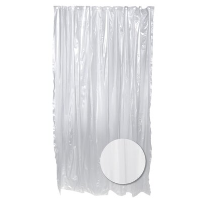Heavy Vinyl Shower Liner Color: Clear