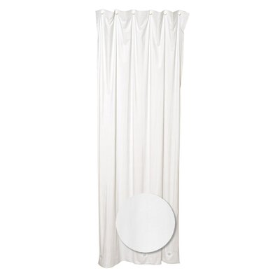 Heavy Vinyl Shower Liner Color: White