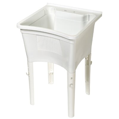 24 x 24 Single Ergonomic Laundry Tub