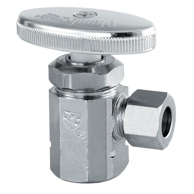 1/2 FIP 3/8 Low Lead Angle Valve