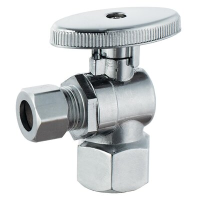 0.5 FIP x 0.375 Low Lead Quarter Turn Angle Valve