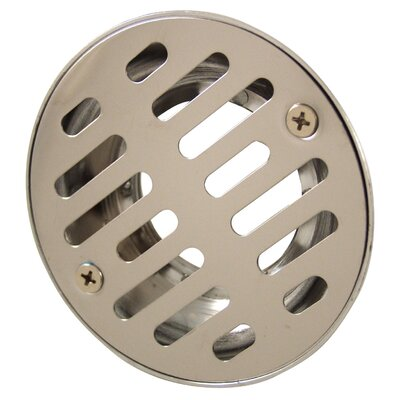 4.75 Grid Shower Drain