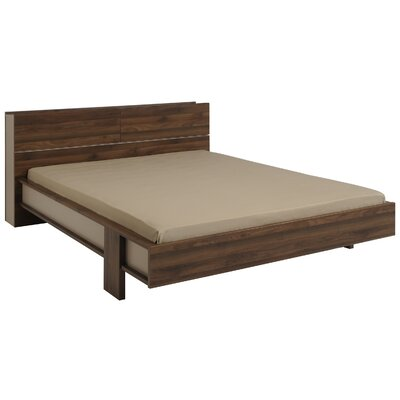 Caley Platform Bed Size: Queen, Color: Brazilian Walnut