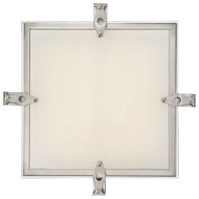 Cuff Link 1-Light Flush Mount