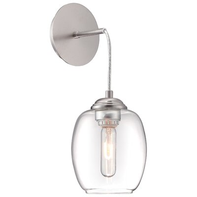 Bubble Wall Pendant Finish: Brushed Nickel