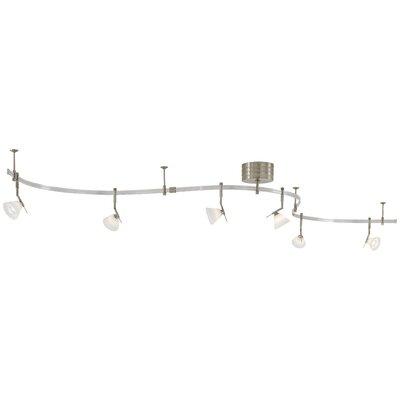Lightrail 6-Light Full Track Lighting Kit Finish: Brushed Nickel