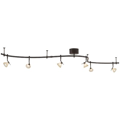 Lightrail 6-Light Full Track Lighting Kit Finish: Sable Bronze