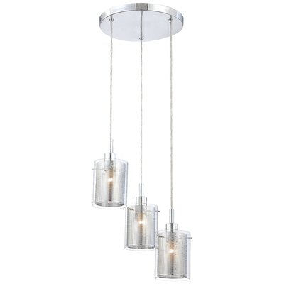 Susan 3-Light Cascade Pendant