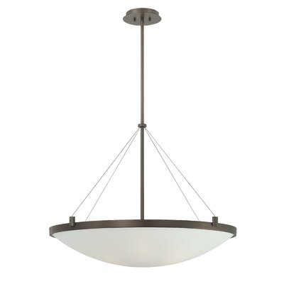 Suspended 6-Light Inverted Pendant
