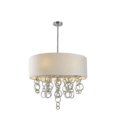 Ringlets 6-Light Drum Pendant