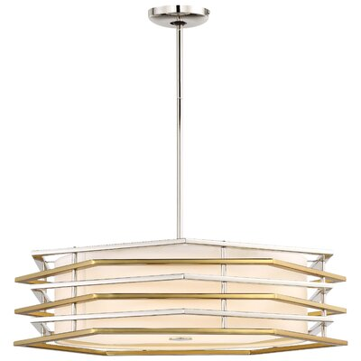 Alethea 1-Light LED Drum Pendant