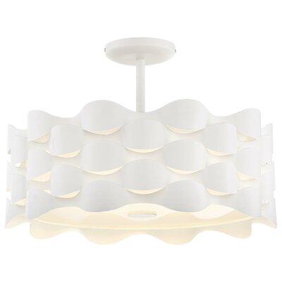 Sigma 1-Light LED Semi Flush Mount