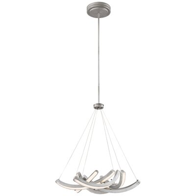 Cooperman 1-Light LED Geometric Pendant Size: 24 H x 25 W x 25 D