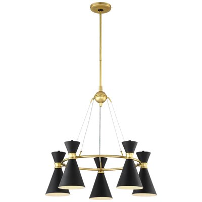 Adalyn 5-Light Candle-Style Chandelier