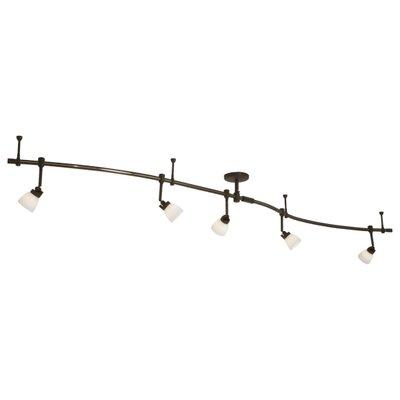 Lightrail 5-Light Full Track Lighting Kit