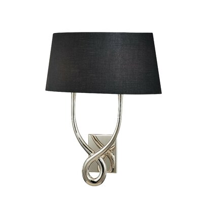 Maxim Lighting Rapture Two Light Wall Sconce with Black Shade in ...