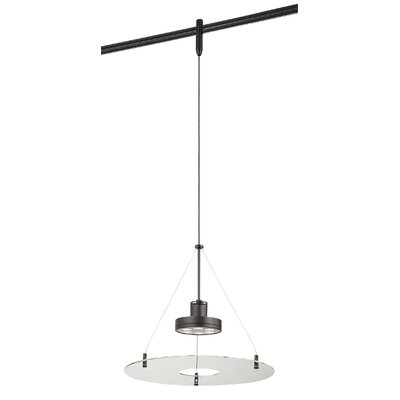 GK Lightrail 6-Light Mini Pendant Finish: Sable Bronze Patina, Glass Color: Clear