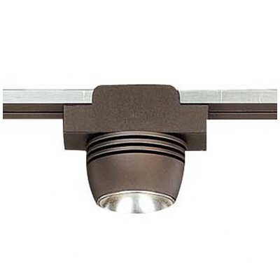 Lightrail 1-Light LED Spot Head With Diffuser Track Head Finish: Sable Bronze Patina