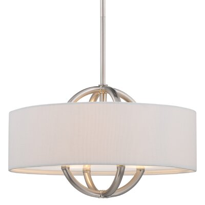 Furniture-3 Light Drum Pendant